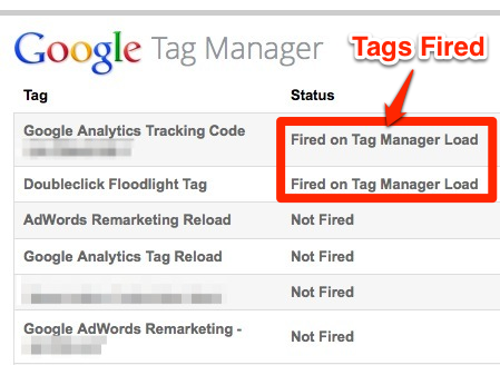 Google Tag Manager Debugger