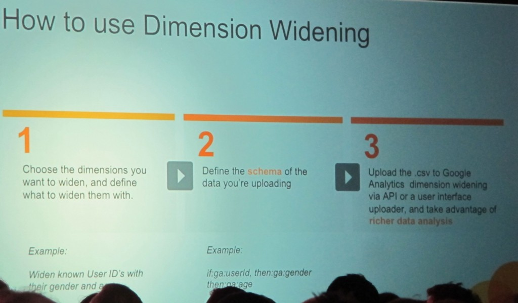 Widen Your Google Analytics Dimensions