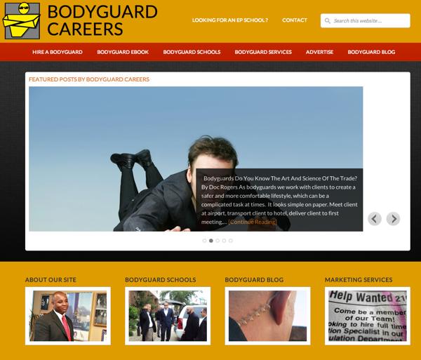 Bodyguard Careers 2013