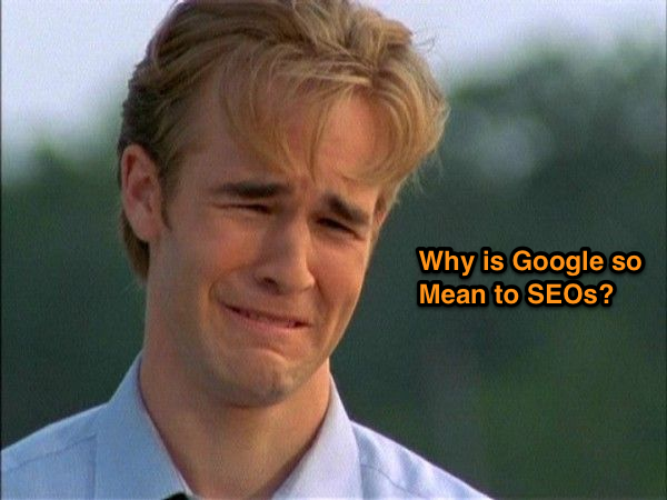 Dawson Crying over Google Not Provided