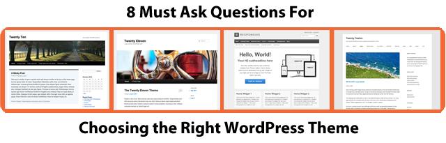 WordPress Theme Choices