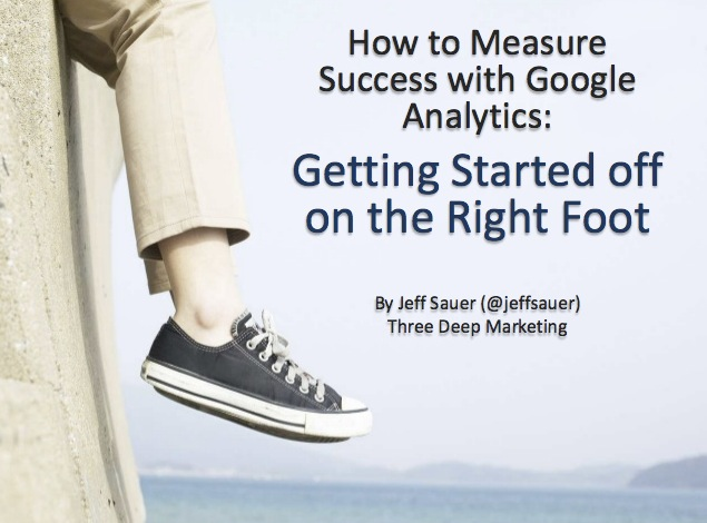 Google Analytics 101 Presentation: Getting Started in Google