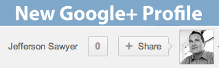 Brand New Google+ Profile
