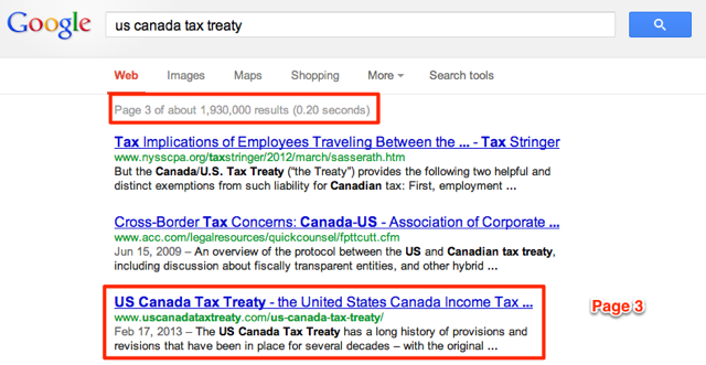 US Canada Tax Treaty Page 3