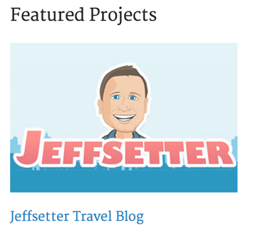 Jeffsetter Travel Blog