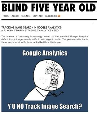 Track Google Image Search