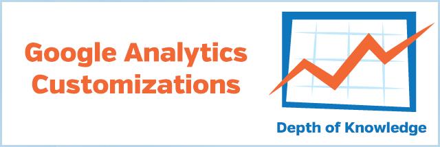 Google Analytics Customizations