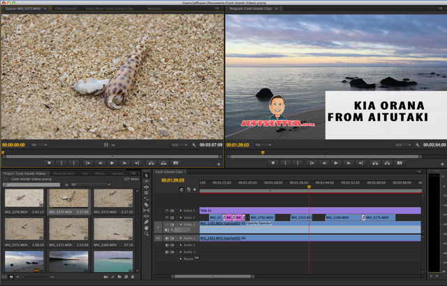 Adobe Premiere Video Production