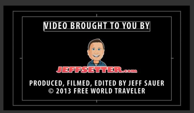 Jeffsetter Credits Page