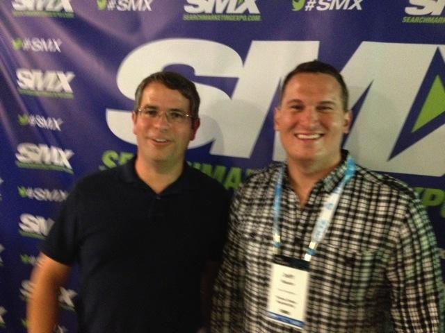 Matt Cutts and Jeff Sauer
