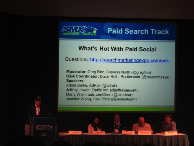 What's Hot with Paid Social Track