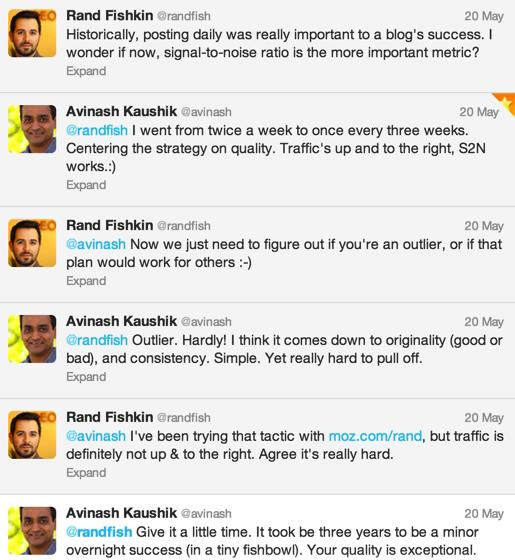 Rand Avinash Conversation