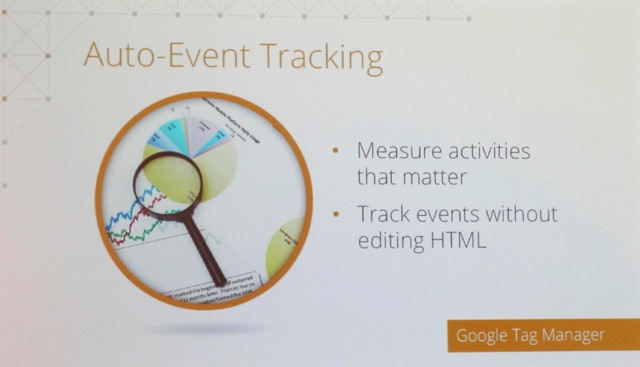 Auto Event Tracking in Google Analytics