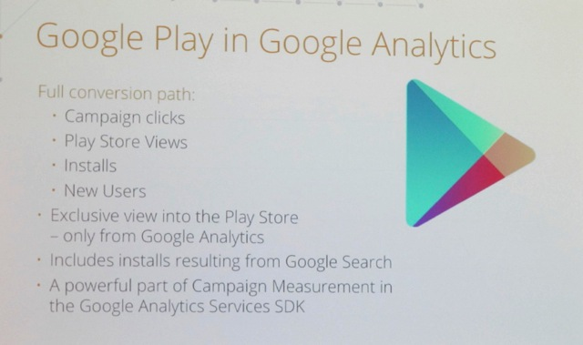 Google Play in Google Analytics