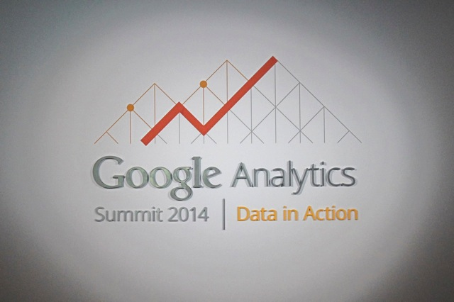 Google Analytics Summit Data in Action 2014