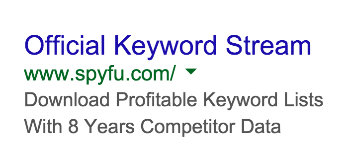 SpyFu Capitalizing on WordStream