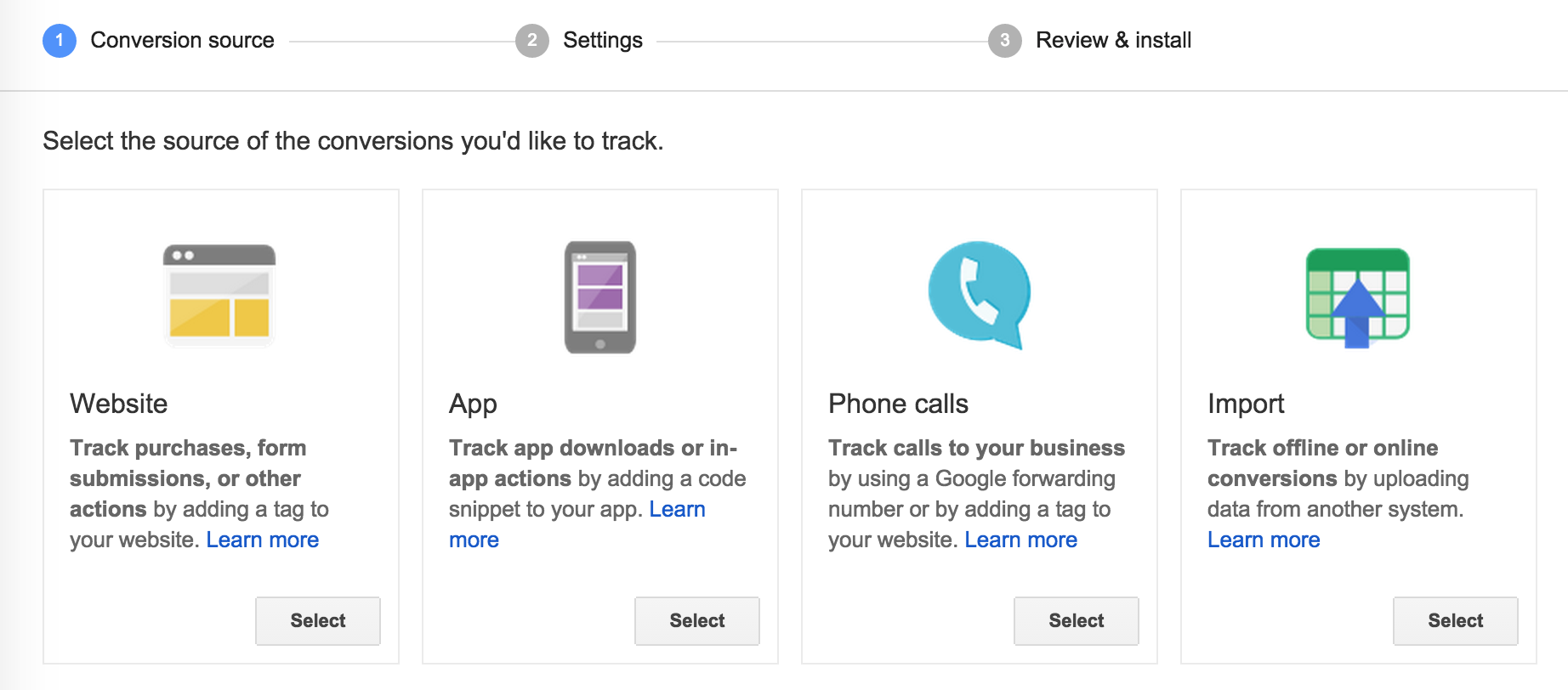 Conversion Tracking Google AdWords