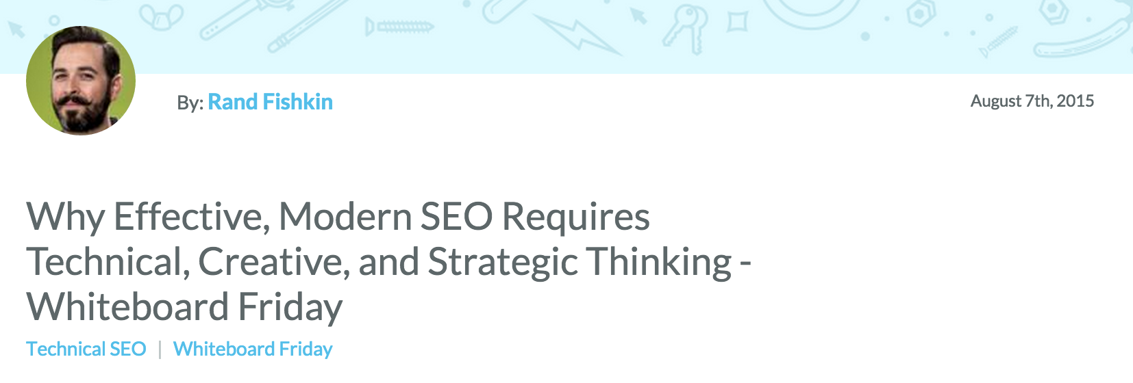 SEO Requires Technical Skills