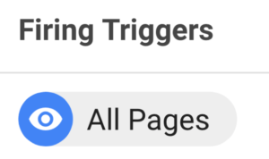 Google Tag Manager Tutorial - All Pages trigger