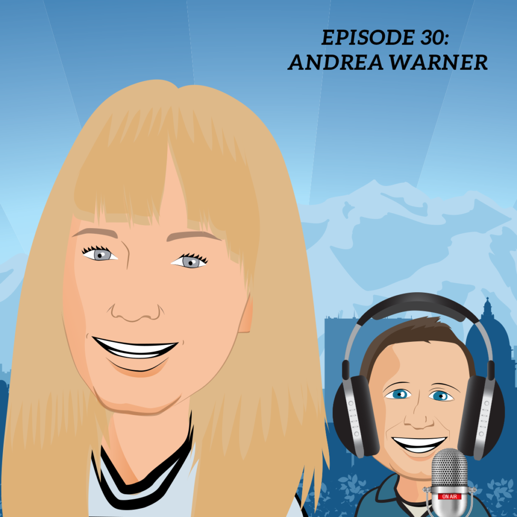 andrea warner podcast