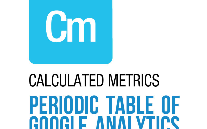 Calculated metrics in google analytics
