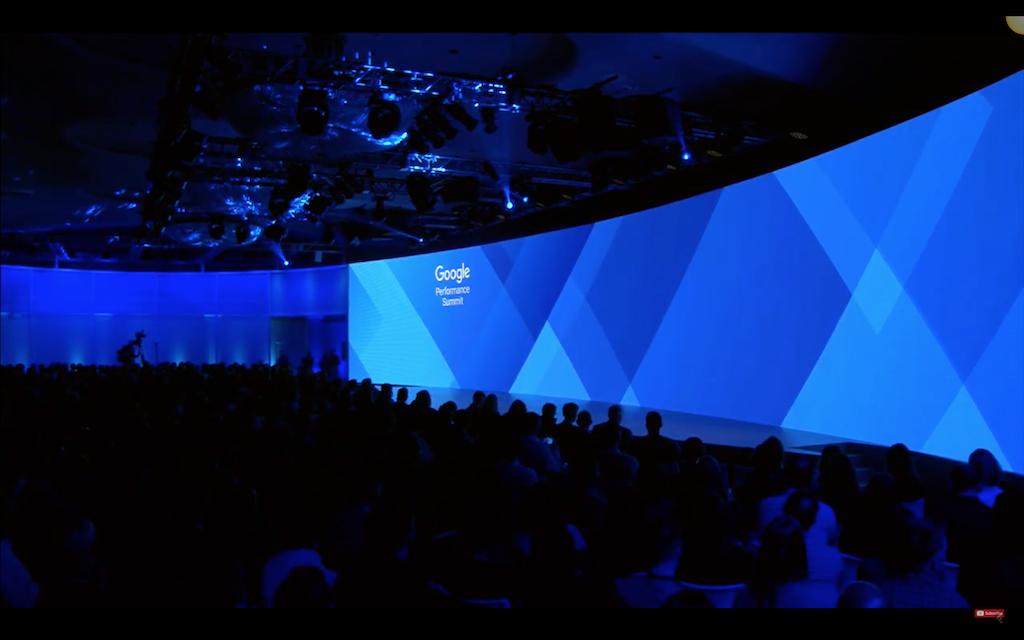 Google Performance Summit Stage