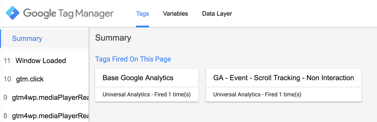 Google Tag Manager Tutorial - preview mode