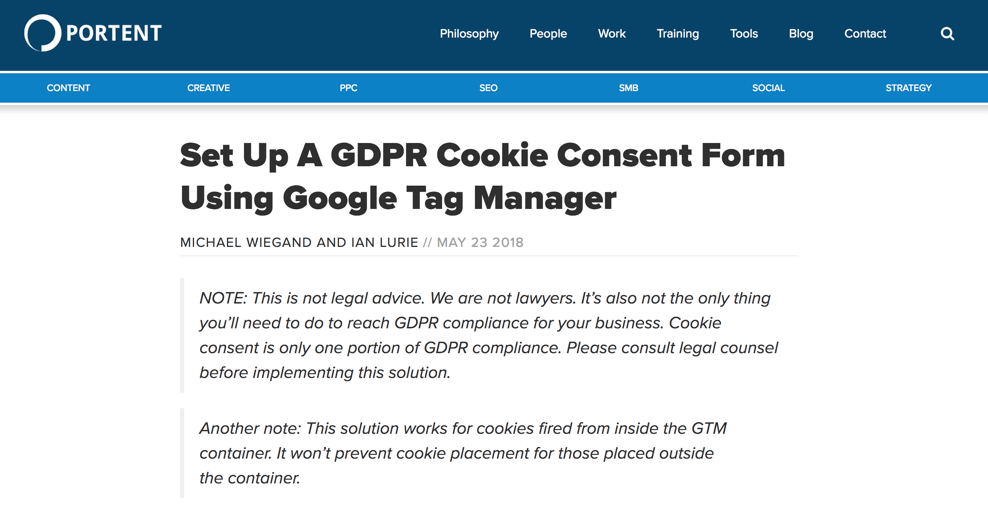 Protent cookie consent banner