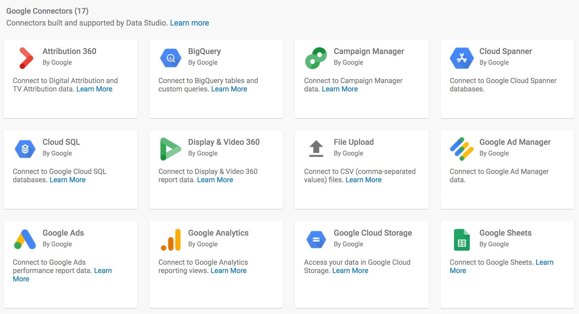 Google Data Studio Connecto