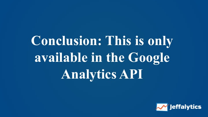 Google Analytics custom reports in the API explorer