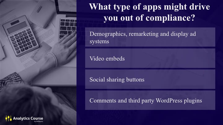 Third party tracking apps