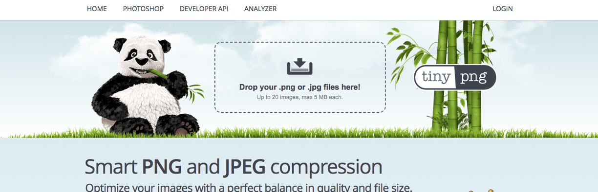 Step 3- Reduce file size with TinyPNG