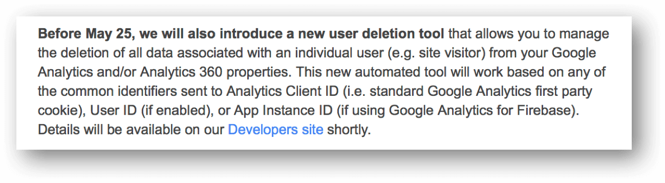 new user deletion tool