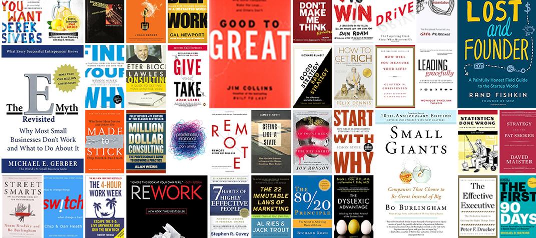 The 50 Best Business Books for Aspiring Entrepreneurs in 2018