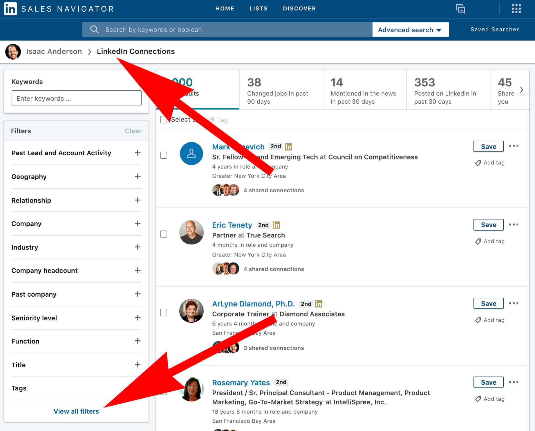 Use LinkedIn to generate top of funnel leads